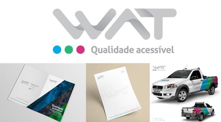 Grupo WAT renova imagem institucional com criação da Marketing SIM